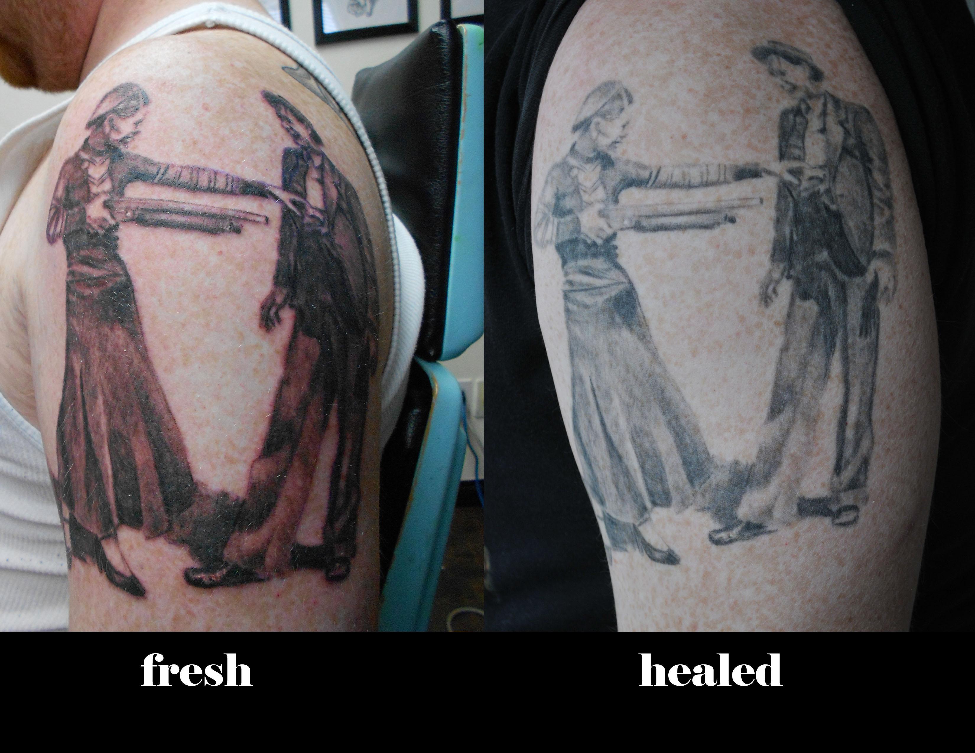 Tattoos By Dan Molotov And Bricks Tattoo